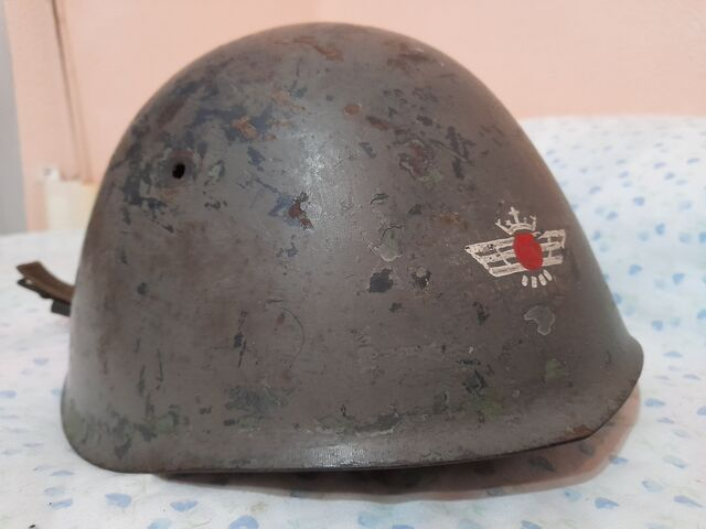CASCO ITALIANO M33 AVIACION GUERRA CIVIL - foto 2