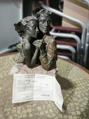 Escultura Lm Lafuente Con Certificado