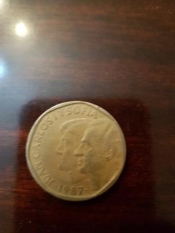Monedas De 500 Pesetas, Años 1987 Y 1989