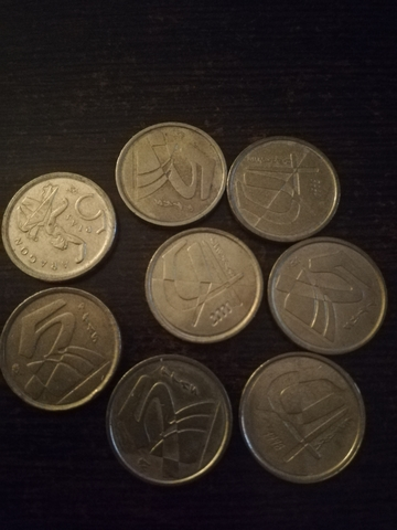 Monedas Cinco Pesetas