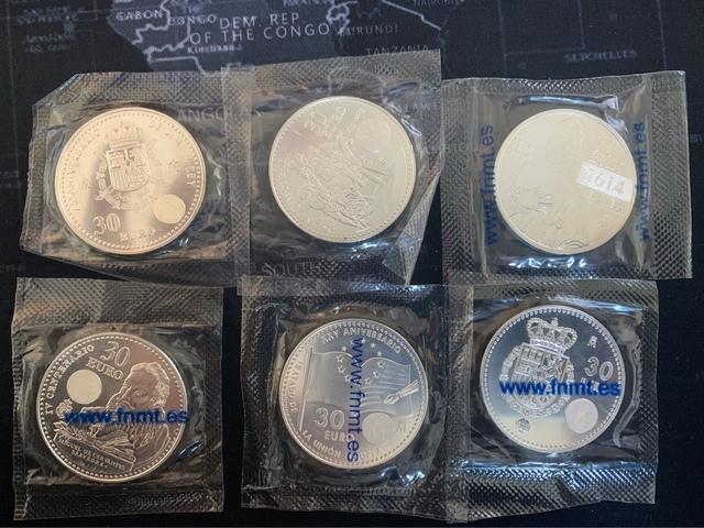 Monedas Plata 30