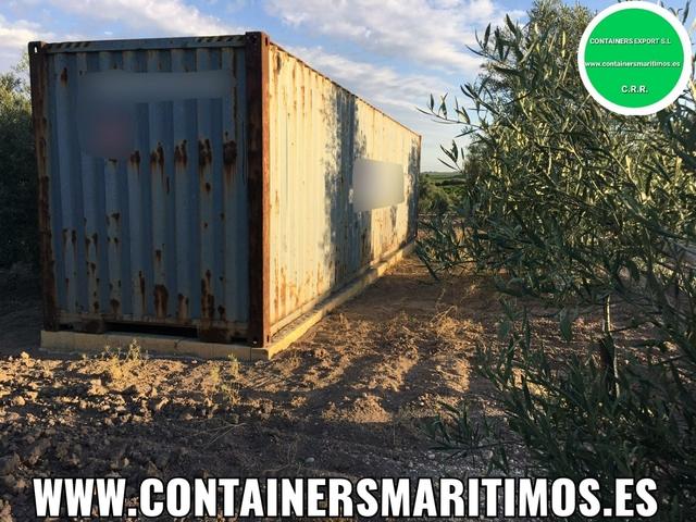CONTENEDORES MARITIMOS 1350 EUROS - foto 1