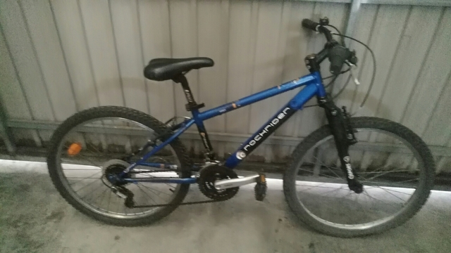 """Bicicleta De Montaña Llanta 24\"""""""