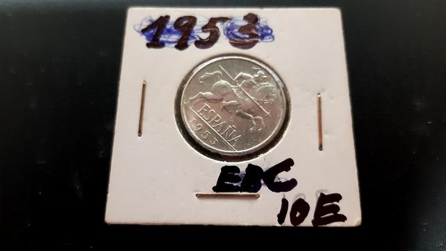 10 Cent 1953 Ebc