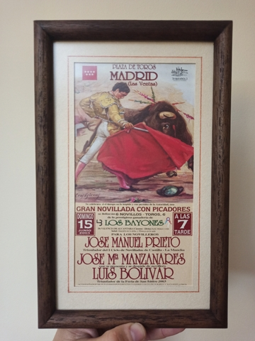Cartel De Toros De Madrid