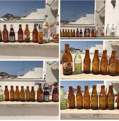 Botellas Antiguas Varias