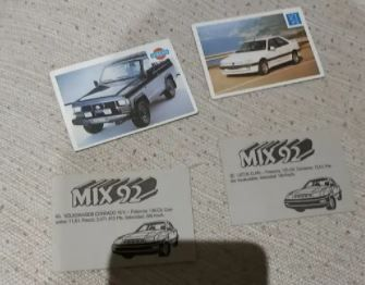 Cards Coches 1992