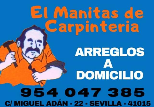 ARREGLOS DEL HOGAR CARPINTERÍA - foto 1