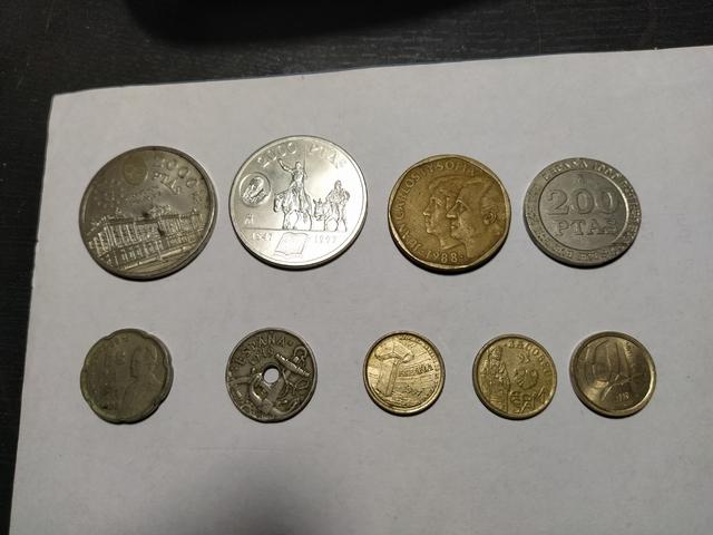 Lote Monedas De Pesetas