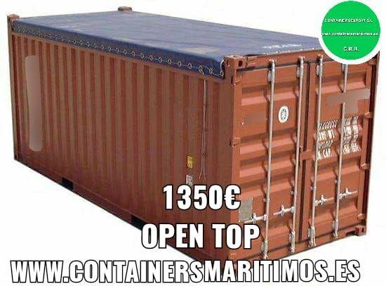 CONTENEDOR MARITIMO ABIERTO 1350 OPENTOP - foto 2