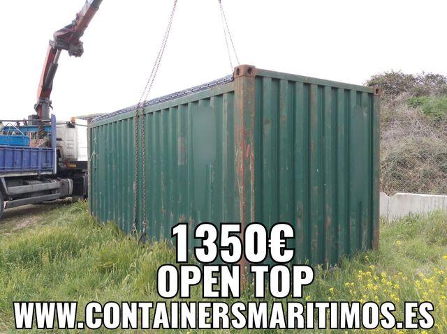 CONTENEDOR MARITIMO ABIERTO 1350 OPENTOP - foto 4