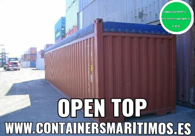 CONTENEDOR MARITIMO ABIERTO 1350 OPENTOP - foto 6