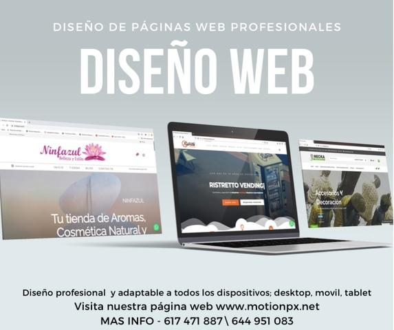 DISEÑO WEB Y PUBLICITARIO - foto 1