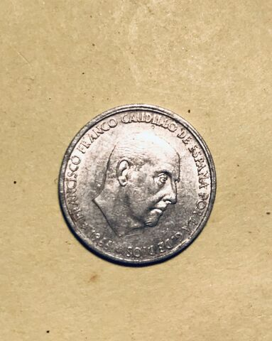 50 Centimos 1966