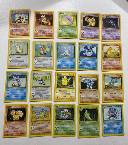 Cartas Pokemon Primera Edicion