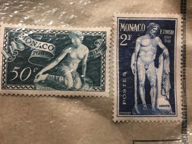 Sellos Antiguos De Mónaco