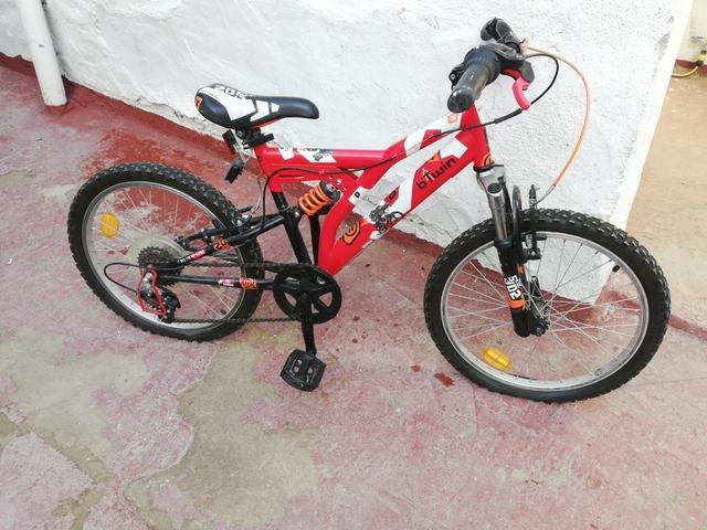 Bicicleta Decathlon Suspensión 20Pulgad