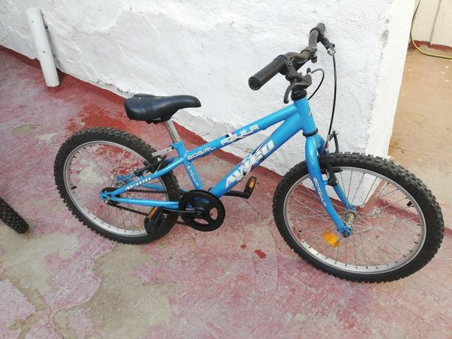 Bicicleta 20 Pulgadas Azul