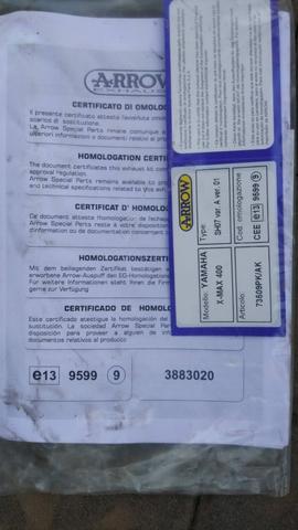 ESCAPE ARROW XMAX 400 NUEVO A ESTRENAR - foto 2