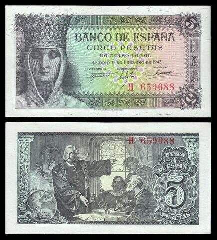 Billete España 1953