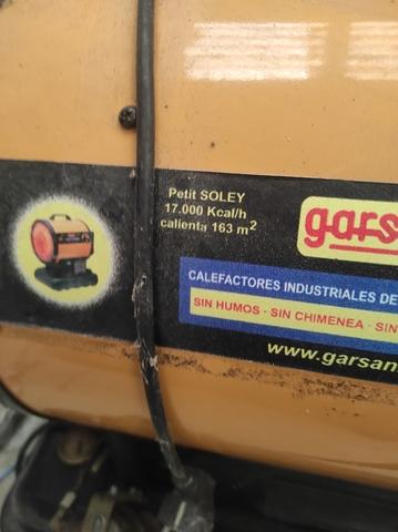 GENERADOR GASOIL INFRARROJOS 17000 KCAL - foto 2