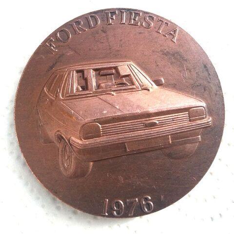 Medalla Bronce Conmemorativa Primer Ford