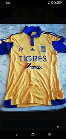 Camiseta Futbol Tigres Mexico Gignac