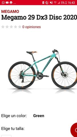 Compro Bicicleta Megamo Dx3. . .