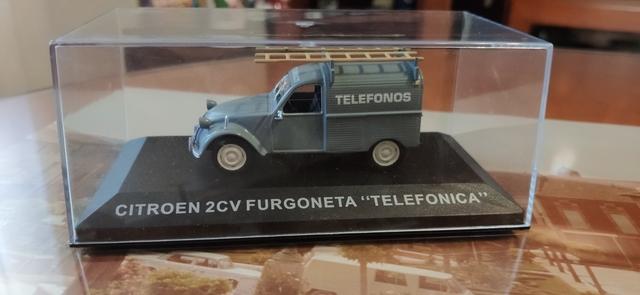 Citroen 2Cv Telefónica 1/43