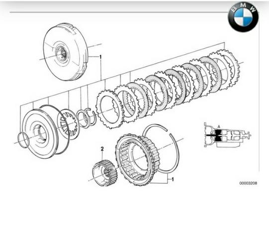 EMBRAGUE BMW E31 / E32 - foto 4
