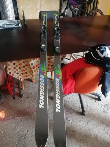 2 Pares Esquís Y Botas Completo