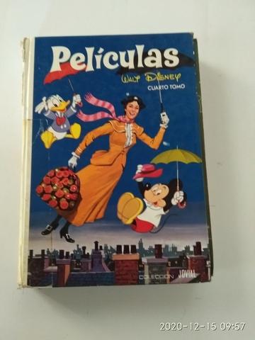LIBRO DE PELÍCULAS WALT DISNEY AÑO 1989 - foto 1