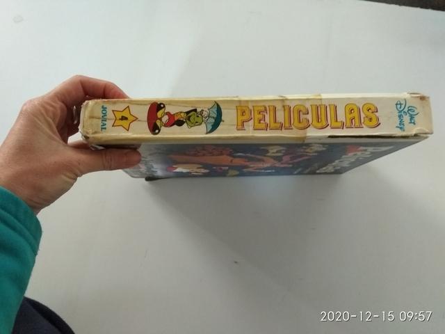 LIBRO DE PELÍCULAS WALT DISNEY AÑO 1989 - foto 3