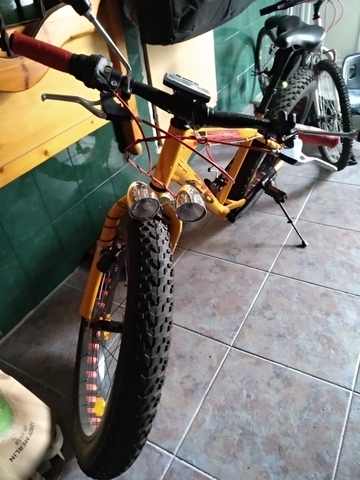 Bicicleta Fat Bike En Perfecto Estado