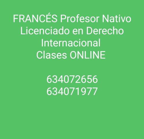 CONVERSACIóN DE FRANCéS CON NATIVO