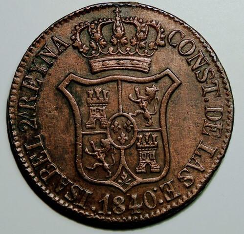 6 Cuartos 1840 + 10 Medallas Vaticano