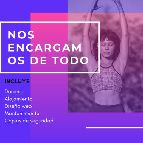 PÁGINA WEB COMPLETA 300EURO TODO INCL.  - foto 1
