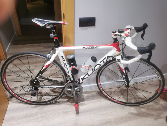 Bicicleta De Carbono Kuota Kebel