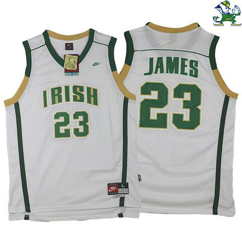 CAMISETA BALONCESTO NBA IRISH LEBRON 23 - foto 1