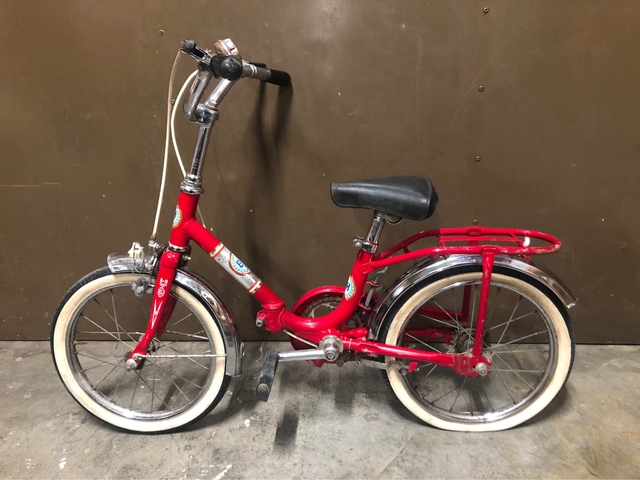 Antigua Bicicleta Bh Vintage Plegable