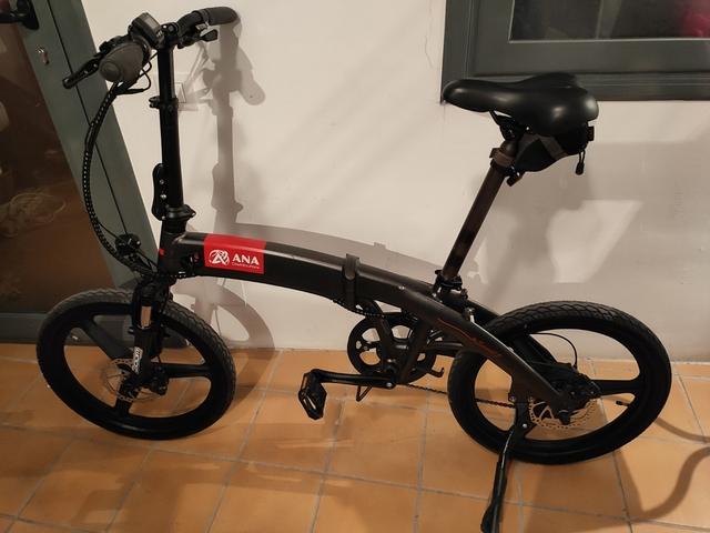 Bicicleta Eléctrica Plegable Smart2S