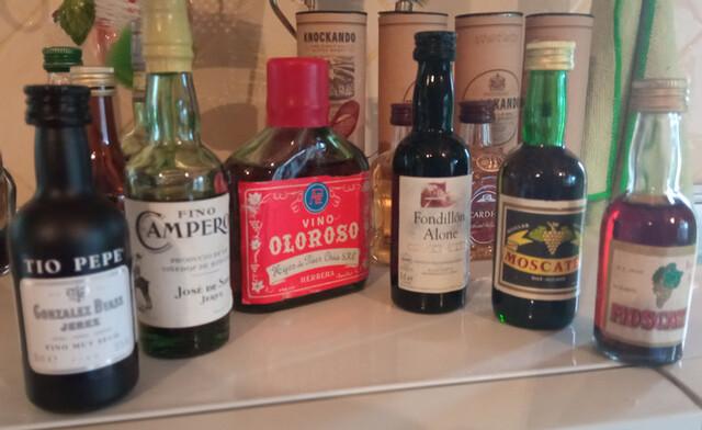 Botellas Vino Miniatura Coleccion