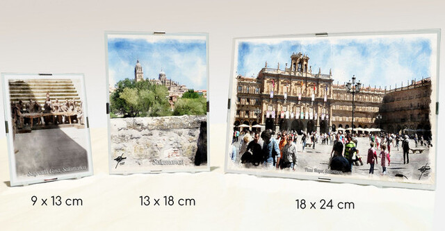 Láminas Enmarcadas, Salamanca