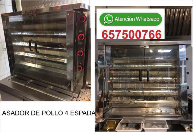 ASADOR DE POLLO 4 ESPADAS - foto 1