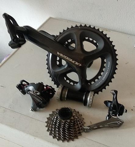 Componentes Shimano Ultegra 2X10V
