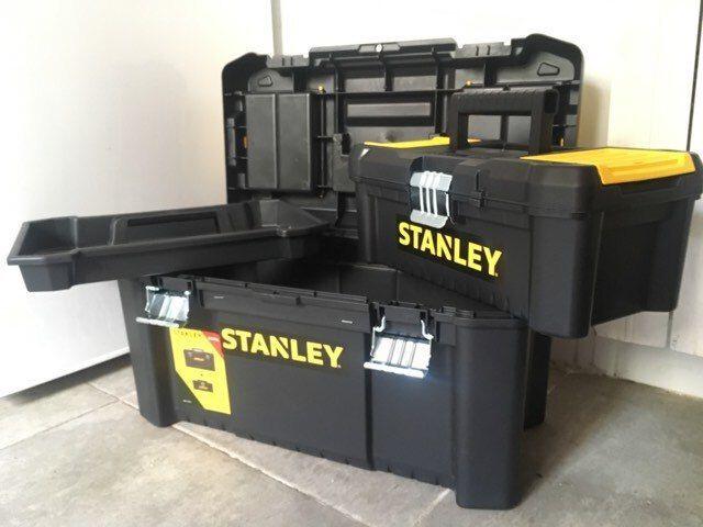 2 Cajas Herramientas Stanley