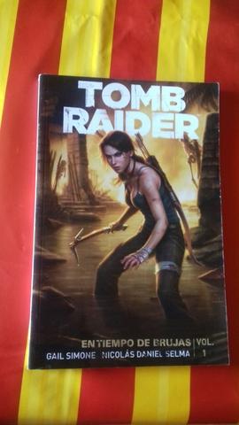 Libro Tomb Raider. En Tiempo De Brujas.1