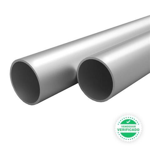 Tubos Aluminio Redondos Unidades