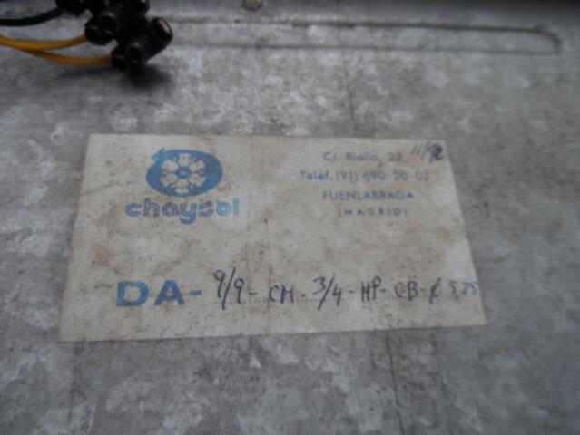 TURBINA DE AIRE CHAYSOL 9/9 0, 75KW 1. 300 - foto 3