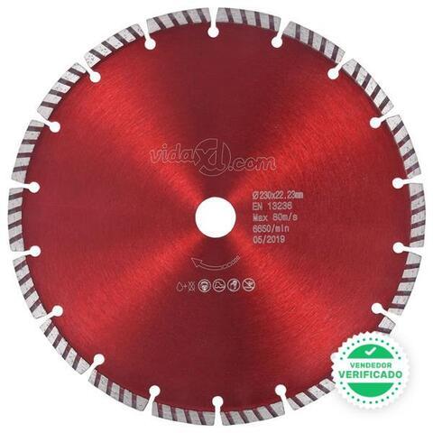 Disco Corte Diamante Turbo Acero 230 Mm